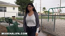 Mia Khalifa Cra ves Big Black Dick Against Boy ick Against Boyfriend's Wishes (mk13769)