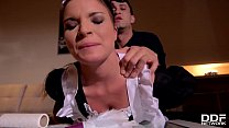 Petite maid Anita B. humiliated & ass fucked by...