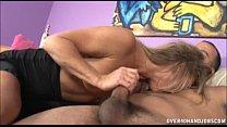 Naughty Milf Jerks Off A Naked Guy