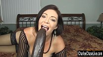 Horny Big Tit MILF Charlee Chase Stuffs Pussy With Big Black Dildo pornhub video