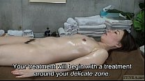 Eden38dd - Subtitled CFNF Japanese oiled up lesbian vaginal massage spa thumbnail