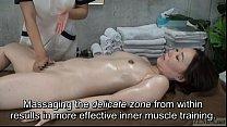 Eden38dd - Subtitled CFNF Japanese oiled up lesbian vaginal massage spa thumbnail