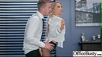 (Alix Lynx) Horny Girl With Big Tits Get Sex In Office clip-02