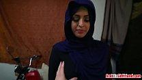 Arab girlfriend knows how to ride throbbing cock thumbnail