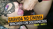 Hardcore sex with stranger at the Cine Kratos, Gangbang - Cristina Almeida at the Sex Theater