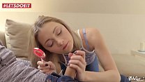 LETSDOEIT - Russian Teen Gets Her Holes Filled By Big Czech Cock Vorschaubild