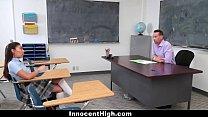 InnocentHigh - Schoolgirl Offers To Be Teachers SexToy thumbnail