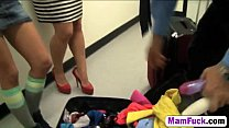 13279 Hot mom and daughter take a stiff dick from behind preview