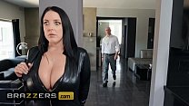 Big Butts Like It Big - (Angela White,  Zach Wild) - Busting On The Burglar - Brazzers porn thumbnail