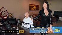 Image: Big Butts Like It Big - (Angela White,  Zach Wild) - Busting On The Burglar - Brazzers