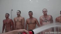 Cute army boy nude gay xxx The Hazing, The Showering and The Fucking