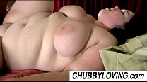 Big beautiful brunette BBW Linda loves to eat cum preview image