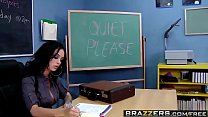 Big Tits at School - Ohhh! The Humanity! scene starring Angelina Valentine  Chris Strokes porn thumbnail
