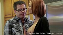 Veronica Avluv gets fucked by her stepson pornhub video