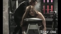 Tits and pussy sadomasochism therapy video