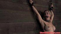 teenpron - mask hooded nipple tortured sub punished thumbnail