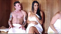 sneaky sauna  and porn thumbnail