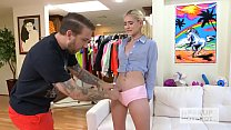 Teen blonde spinner Jesse Saint gets fucked senseless by Bryan Gozzling Preview
