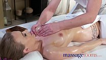 Image: Massage Rooms Horny oiled petite British woman fucked hard squirting