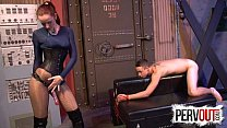Vivienne L'amour Broke His Ass CFNM PEGGING ANAL Thumbnail