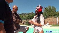 19890 Lina, beurette masquée cherche plan à trois pour double péné [Full Video] preview