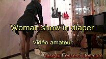 Woman show in diaper video amateur porn image
