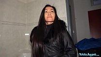 Public Agent Hot Thai beauty fucked hard in horny gas station toilet fuck Vorschaubild