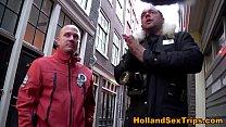 European hooker teases