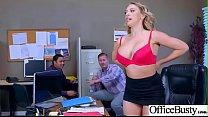 (Kagney Linn Karter) Hot Office Girl With Big T...