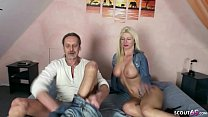 21 sextuary - GERMAN MILF NADJA FUCKED BAREBACK BY HUGE DICK USER thumbnail