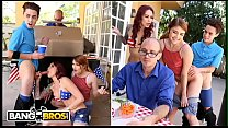 BANGBROS - 4th Of July Threesome With Monique A... Thumbnail