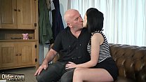 Teen with nice perky tits and shaved pussy fucked by grandpa in old young ◦ kendell jenner sextape thumbnail