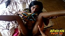 Ebony Hottie Akili Swallowing Big White Dick