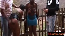 African sluts chained smacked and dominated har...