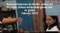 Le salió pendejo para coger, ni lo caliente le bajó a Roxana Espinoza de Autlan