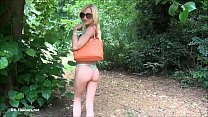 Sexy blonde Debbies outdoor masturbation and flashing babes public nudity