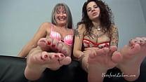 Ginary N Leilani Lei Foot JOI