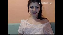Inocent girl get naked on webcam's Thumb