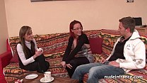 FFM Pretty amateur french milf hard anal penetr...