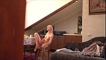 Skinny Teen Milena - Waiting for her boyfriend