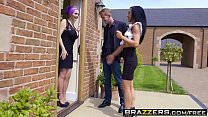 Brazzers - Real Wife Stories - Jasmine James Skyler Mckay Danny D and Keiran Lee - The Dinner Invitation preview image