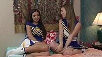 Lesbian Curious Cheerleaders Jill Kassidy And M