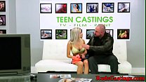 Tattooed teen pounded at brutal casting's Thumb