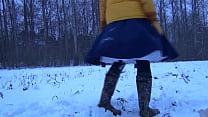 bella in winterwellingtons