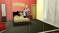 Milk Chichi Esposa Follada Por Vegeta Mientra Habla por Telefono Con Su Marido Goku Hentai Netorare صورة