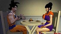 19676 Milk Chichi Esposa Follada Por Vegeta Mientra Habla por Telefono Con Su Marido Goku Hentai Netorare preview