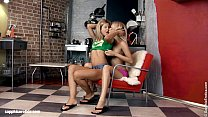 Sexy lesbians Chiara and Anya engage in a hot twosome on Sapphic Erotica thumbnail