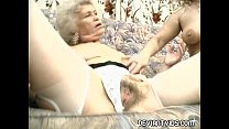 Grandmas devour each other's pussy