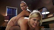 Boss lesbian lawyer anal fucks blonde pornhub video