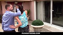 PunishTeens - Sneaky Teen Fucked and Abused By Neighbor pornhub video